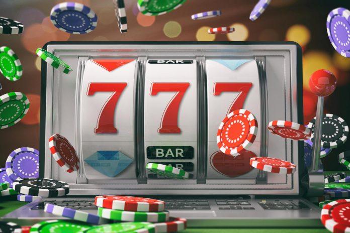 slots, lucky 7s, chips